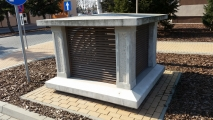 <h5>Czerpnia powietrza</h5><p>Czerpnia powietrza zaprojektowana i wykonana przez MUR-BET</p>