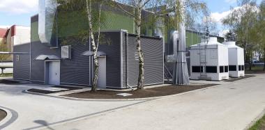 Remont i termomodernizacja budynku hamowni silników  w Poznaniu